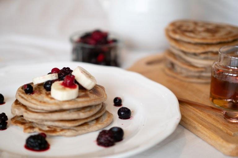 Buckwheat Booster Pancakes