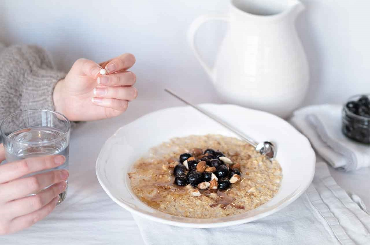 Take probiotics with breakfast